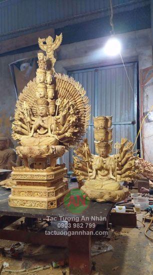Tượng Gỗ Phật Thiên Thù Thiên Nhãn